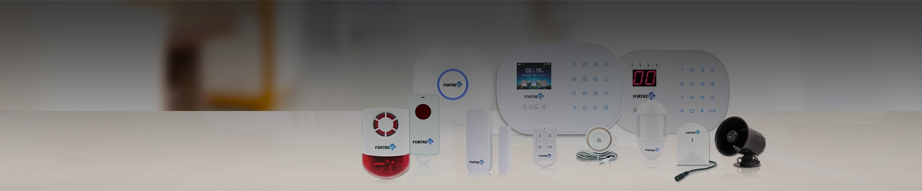 S03 WiFi Security System