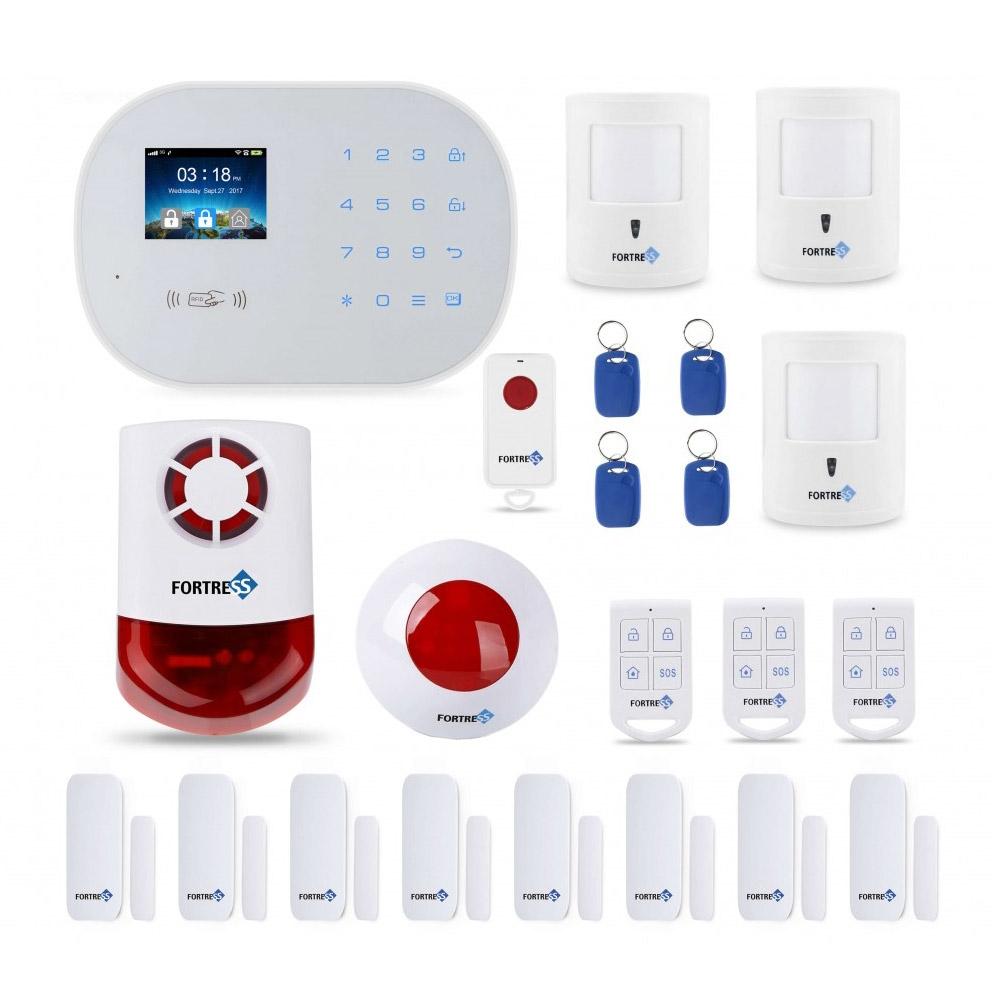 Home Alarm System S6 Titan 3G/4G WiFi Deluxe Pet Kit