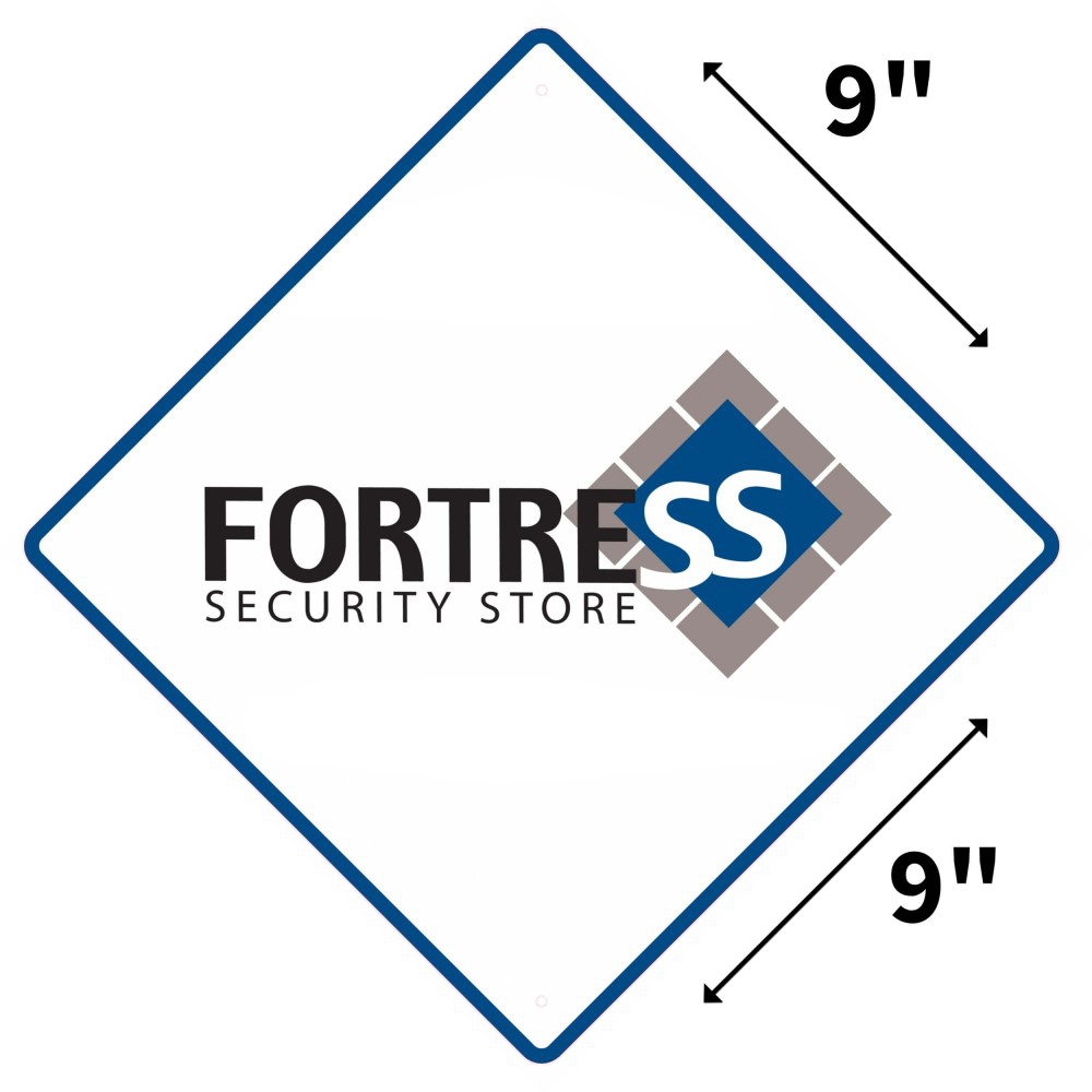Yard Sign (Weather Resistant Polyethylene Plastic) Fortress Security Store