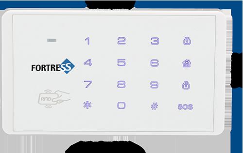 Fortress RFID Keypad (w/ 2 key tags)