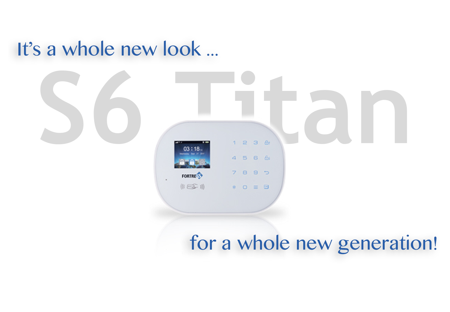 Introducing the S6 Titan 3G WiFi Security System!